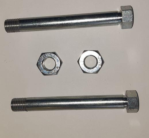 Brake Caliper Bolt Silver (Pair)