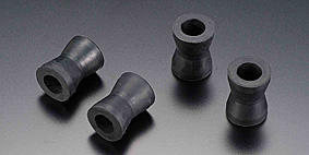 Front Footrest Mounting Rubbers K,M,S,Y (Set of 4)