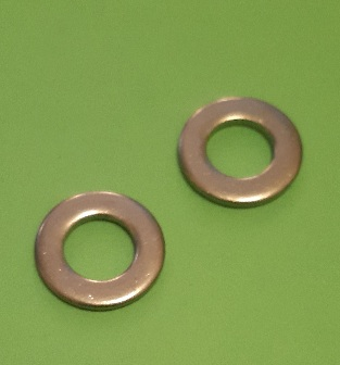 M10 Chamfered Washer Stainless (2 Pack)