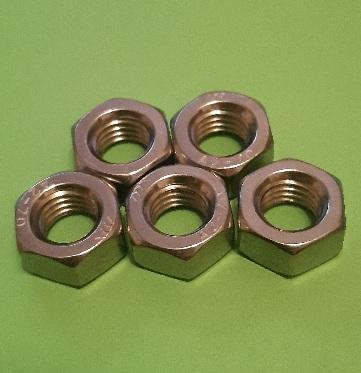 M10 Full Nut Stainless (5 Pack)