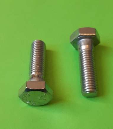 M10 x 35 Long Hex Hd Bolt Stainless (2-Pack)