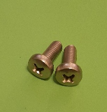 M5 x 16 Long Pan Hd Screw Stainless (2-Pack)