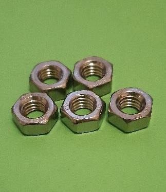 M6 Full Nut Stainless (5 Pack)