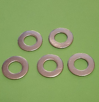 M8 Enlarged Dia Flat Washer Stainless (5 Pack)