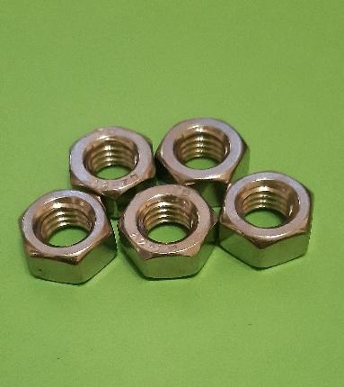 M8 Full Nut Stainless (5 Pack)