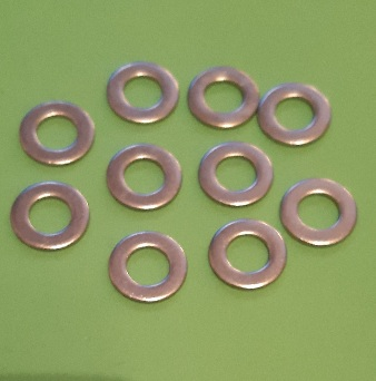 M8 Plain Washer Stainless (10 Pack)