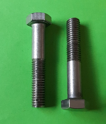 M8 x 45 Long Hex Hd Bolt Stainless (2-Pack)